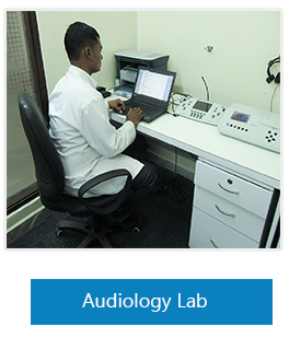 Audiology Lab in Medicaid Hospital